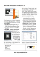 3D calibration software microCal